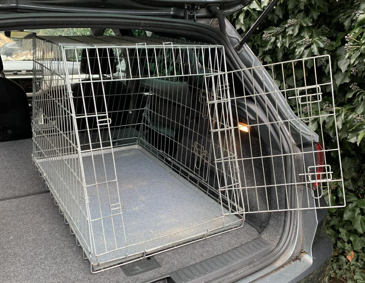 Hundegitterbox